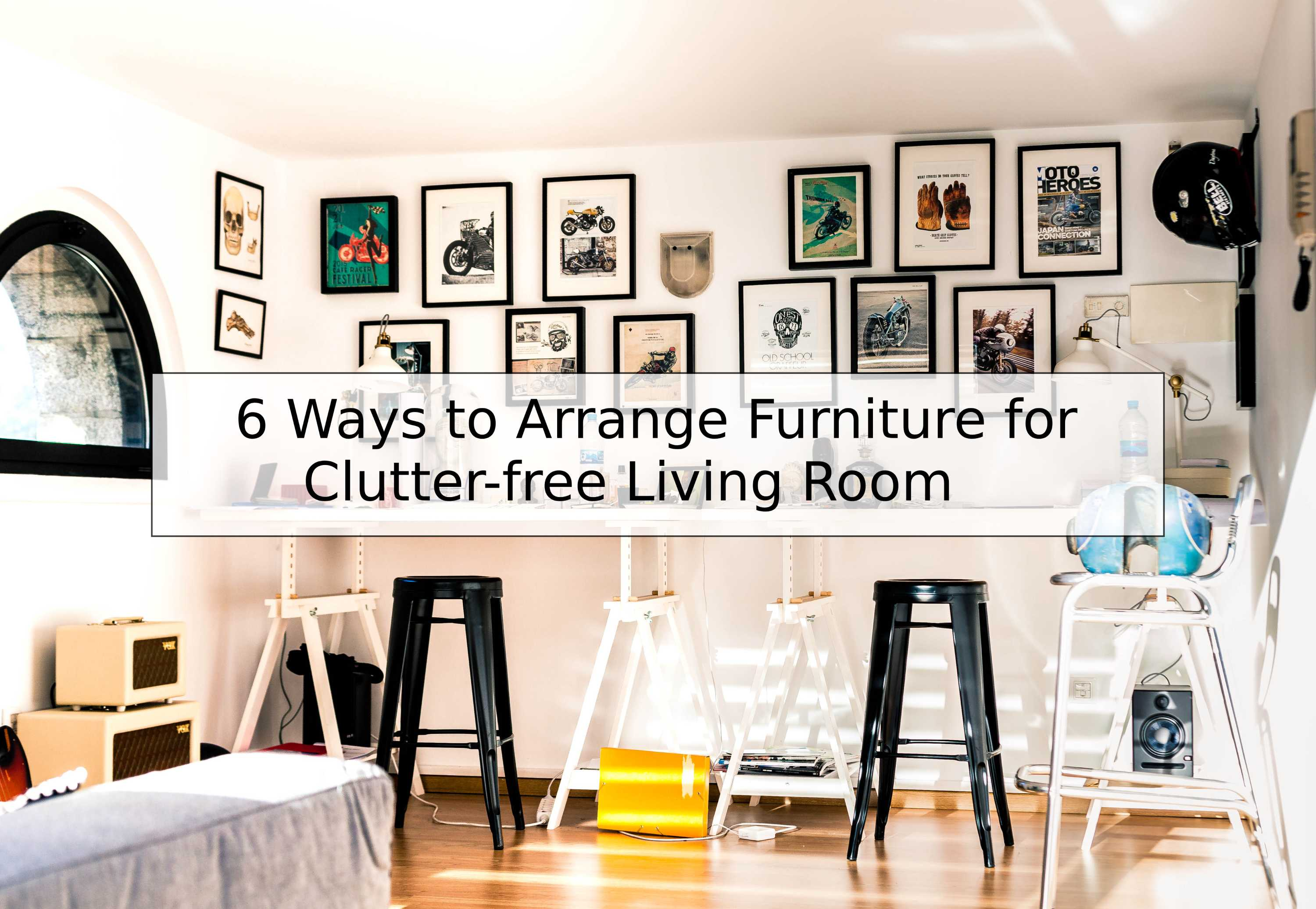 6 Ways To Arrange Furniture For A Clutter Free Living Room | Flats In  Pallavaram